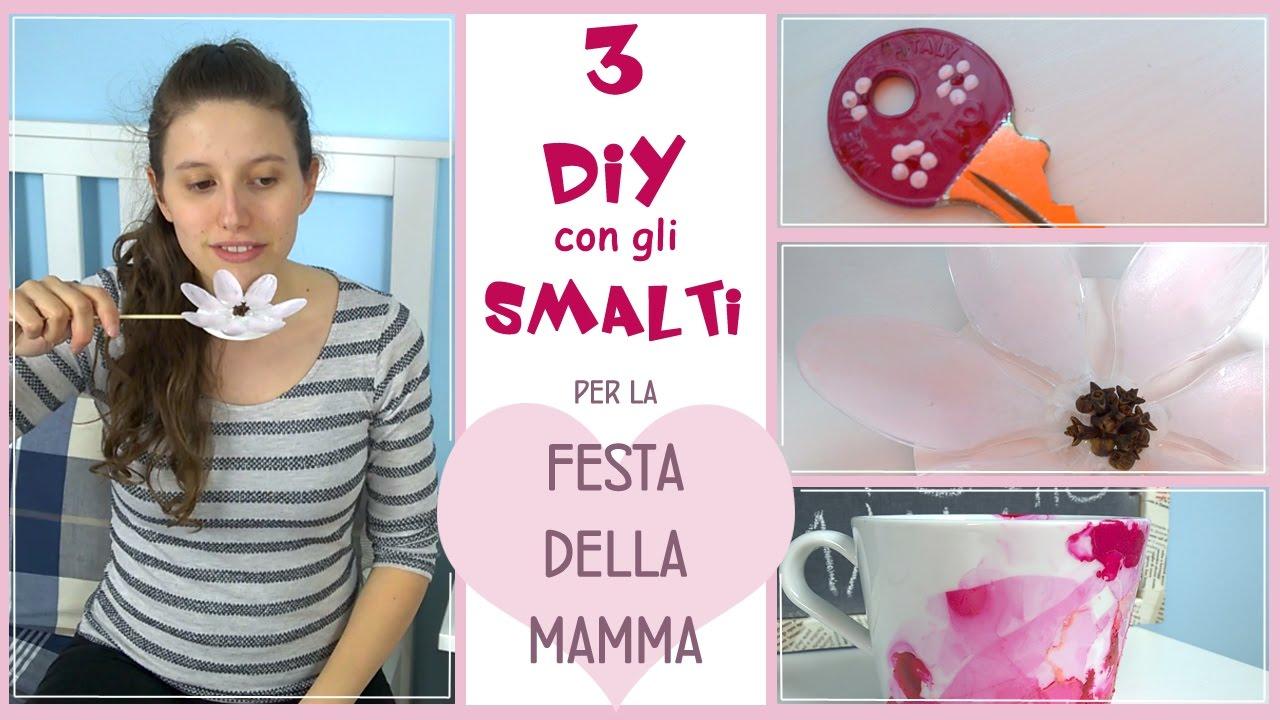 Super Diy per la festa della mamma/tre semplici idee regalo utilizzando  UV73