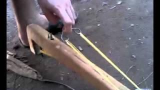 Repeat youtube video arpon casero con gatillo