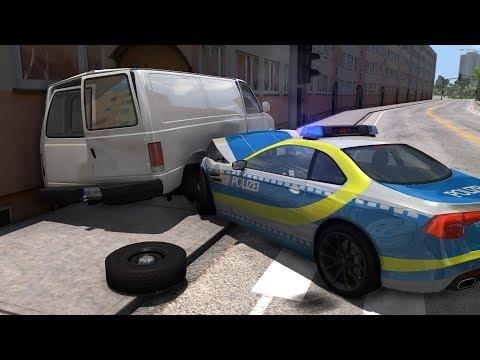 Polish Roads Police Chases | BeamNG.drive