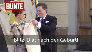 Madeleine von Schweden - Blitz-Diät nach Nicolas' Geburt  - BUNTE TV