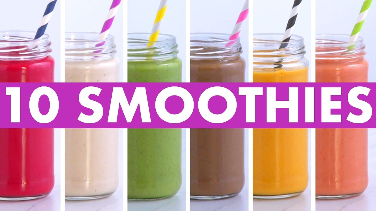 Vegetable Packed Smoothies Healthy Breakfast Smoothie Recipes