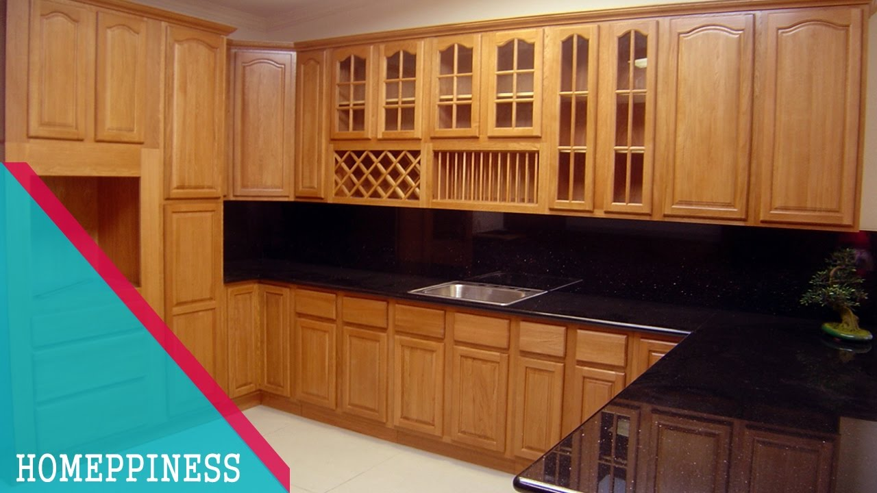 MAKE AN AWESOME KITCHEN With These 9+ Contemporary All Wood Kitchen  Cabinets   NEW DESIGN 917