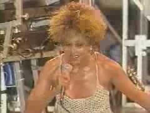 Tina Turner homenageando Ayrton Senna