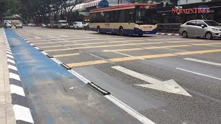 DBKL removes bicycle lane separators amid backlash
