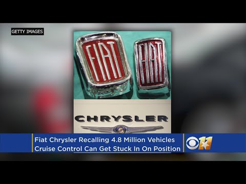 Fiat Chrysler Warns 4.8M Owners: Don't Use Cruise Control