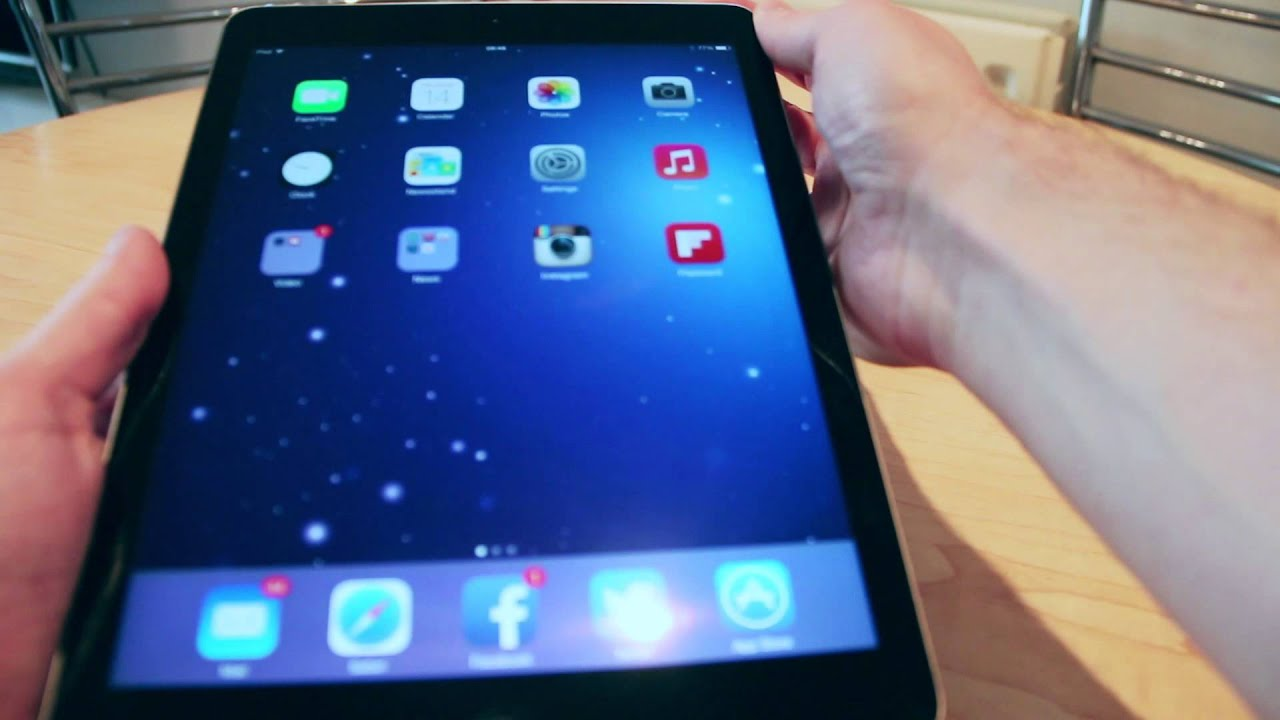 apple ipad air 32gb wifi review youtube. Black Bedroom Furniture Sets. Home Design Ideas