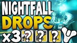 Destiny - NIGHTFALL DROPS x3 (Week 21)