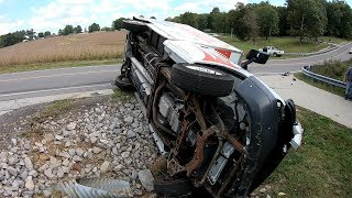 DRIVING FAIL!!!!!!!!  ROLLOVER BOX VAN