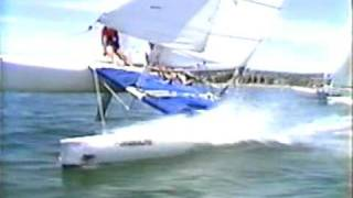 Super Cat sailing on Mission Bay