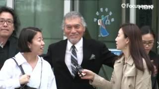 나훈아! 8년 만에 법원 앞에서 등장?!