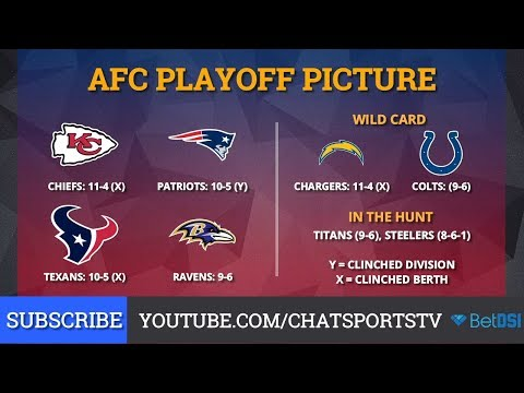 AFC Playoff Picture: NFL Clinching Scenarios And Standings Entering Week 17 Of 2018