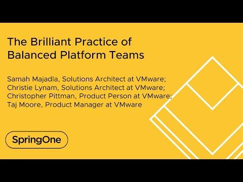 The Brilliant Practice of Balanced Platform Teams