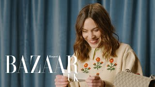Alexa Chung plays Fill in the Blank | Bazaar UK | #AD For GuccI