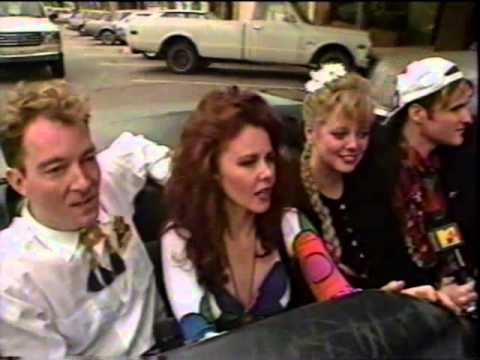 The B-52's Give A Tour Of Athens, GA 1989