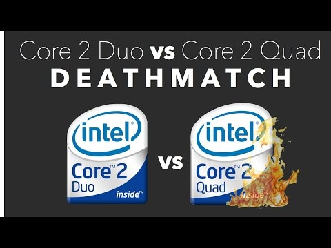 Core 2 Duo vs Core 2 Quad: DEATHMATCH
