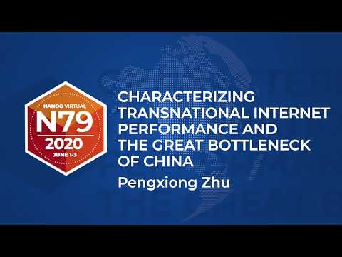 Characterizing Transnational Internet Performance and the Great Bottleneck of China