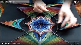 string art multicolor