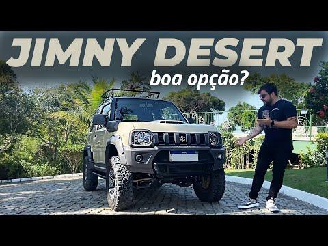 JIMNY DESERT: Um bom off-road usado?