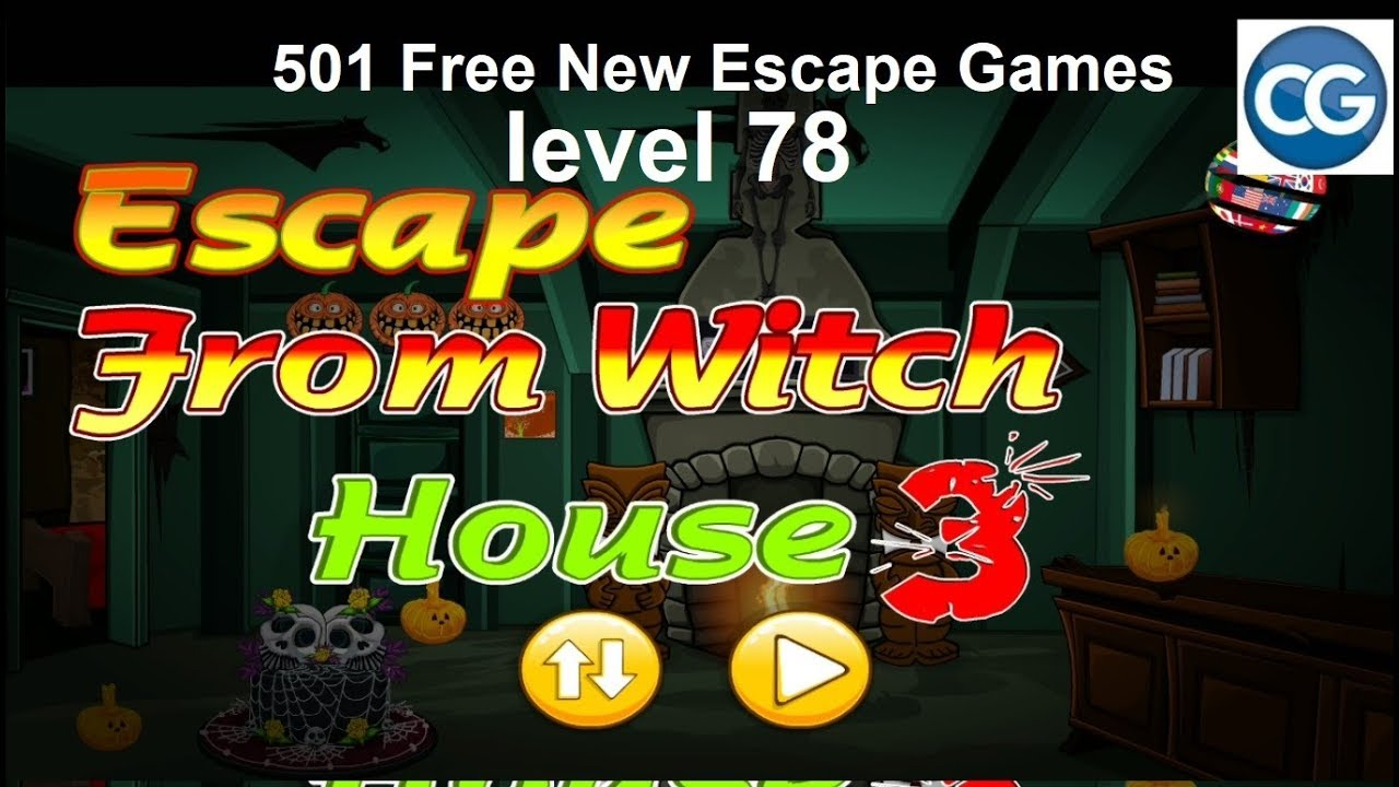 Walkthrough 501 Free New Escape Games Level 78 Escape