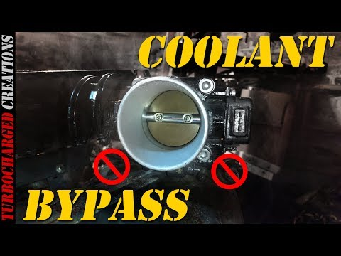 Quick Tip: VG30 Throttle Body Coolant Bypass