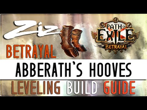 Ziz - Abberath's Hooves Leveling Guide! 3.5 Path of Exile: Betrayal