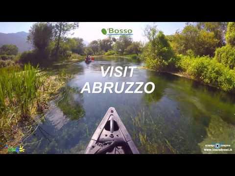 ABRUZZO - Il fiume più pulito d'Italia - IL TIRINO by Icaro Droni