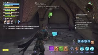 Location of the catacombs E-F Fortnite save from World