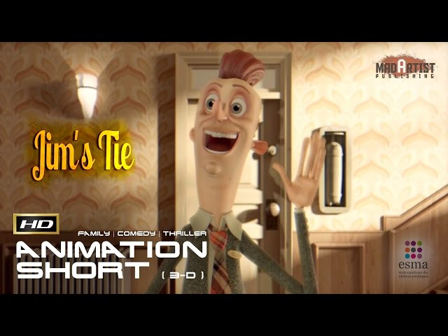 JIM's TIE | CGI 3D Animated Short - The most Important day in modern history by ESMA
