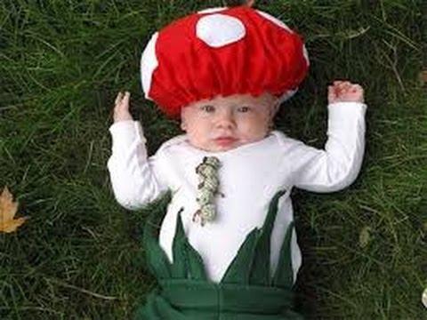 Disfraces infantiles hechos en casa 3 youtube - Disfraces bebe halloween ...