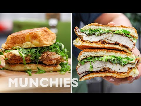 How To Make A Fried Chicken Sandwich with Win Son