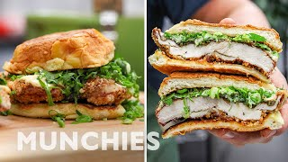 How To Make A Fried Chicken Sandwich with Trigg Brown of Win Son