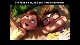 Song : You Raise Me Up - Westlife ☆ Movie: Up (2009 film) ☆Video ed...