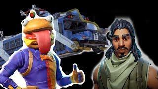 How the Fortnite battle bus crashed for real?