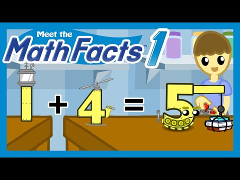 Meet the Math Facts Level 1 - 1+4=5