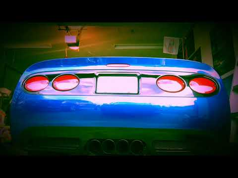 Supercharged C5 Z06-Cold Start Up
