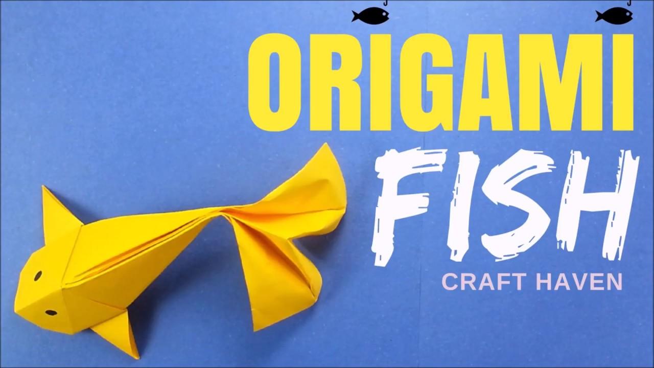 How to make origami fish origami fish koi tutorial for Origami koi fish tutorial