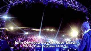 John Digweed Live at Mute Beach Mar del Plata Argentina 18/01/14