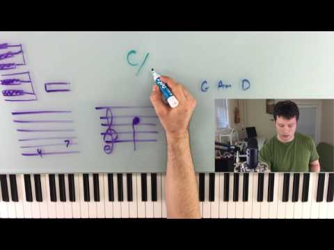 Slash Chords, Polychords, Sixth Chords, and Ways to Write Down Music