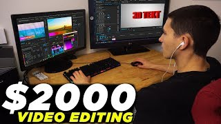 How I Make $2000 a Month Video Editing