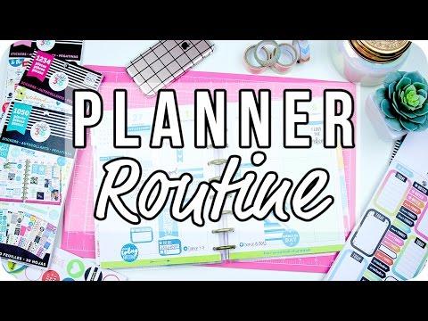 Planner Routine 2017 | The Happy Planner