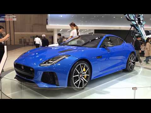 [Top Cars]: 2018 Jaguar F-TYPE SVR First Look - Seoul Motor Show 2017