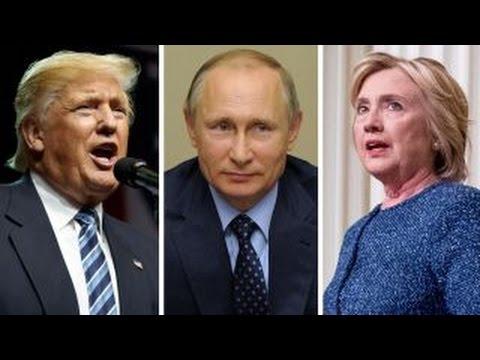 Clinton vs. Trump on Russia