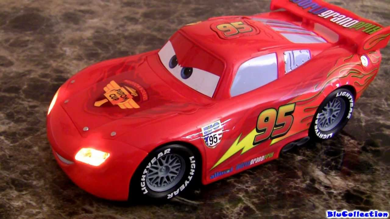 Huge Lights And Sounds Lightning Mcqueen Car Toy Youtube