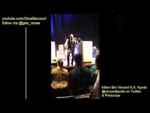 Day 1 -Vincent K.K. Kpodo Sets The Stage For Prophet Brian Carn Prayer Prophetic Intercession
