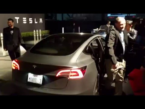 TMC Test Ride in the Tesla Model 3
