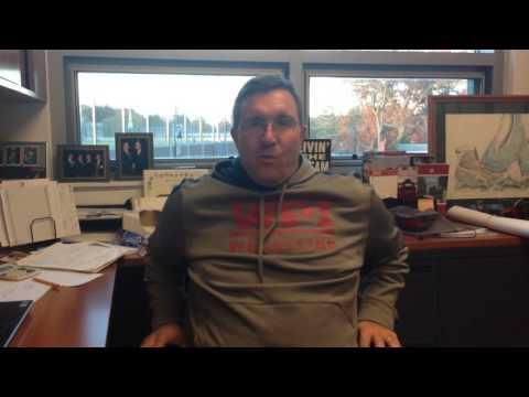 WPI Wrestling Preseason Interview - Steve Hall