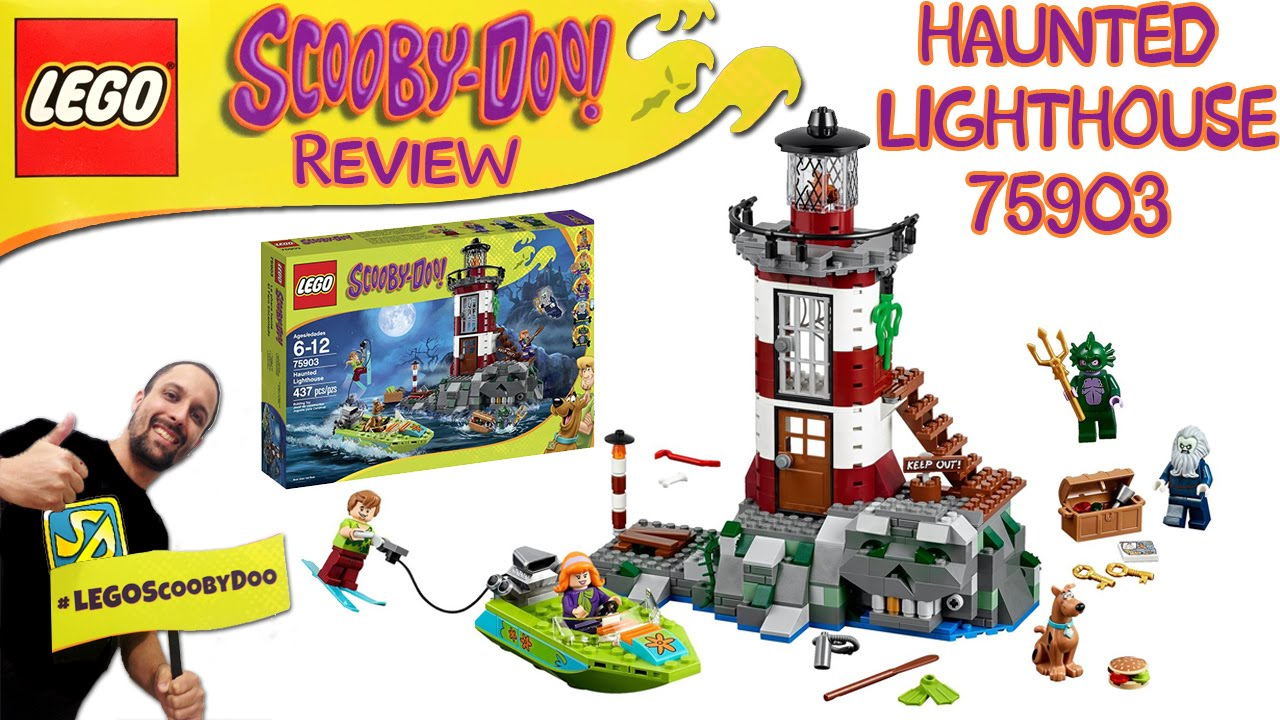 Lego Haunted Set Doo 75903speed Lighthouse Scooby BuildReview fY76ygbv