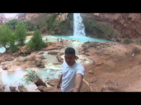 2014 Havasupai Falls Trip / GoPro / Start to Finish