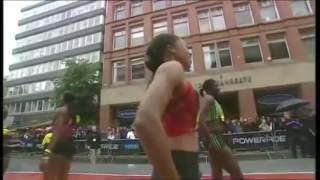 Allyson Felix Wins 200m