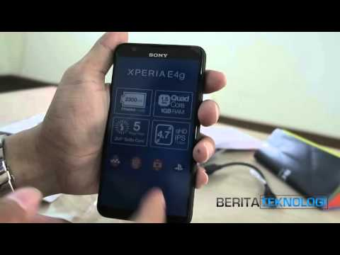 Unboxing Sony Xperia E4g Indonesia